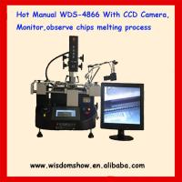 Buy cheap low cost hot air infrared bga repair machine WDS-4866 with camera monitor from wholesalers