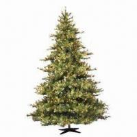 Buy cheap Artificial Monroe Pine Christmas Tree with Metal Stand, Wrapped Style from wholesalers