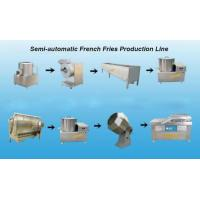Buy cheap Small Scale Sem Automatic Potato Chips Making Machine High Performance from wholesalers