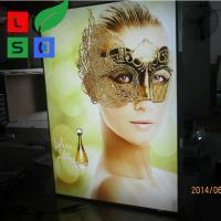 Buy cheap Picture Light Box Frame Custom 28Mm Thin LED Light Display Box product