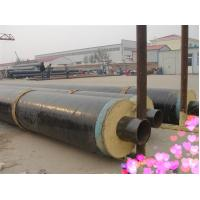 Buy cheap Black Jacket PU Foam Thermal Insulated Steel Pipe Q195 Q215 Q235 Q345 For Air / Water / Petroleum from wholesalers