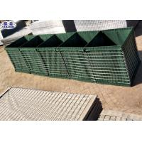 Buy cheap Galvanized Military Barriers Used Protective Walls Geotextile Fabric Components from wholesalers