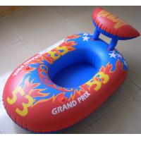 Buy cheap Custom newest design red car inflatable boat and single inflatable boat for kids from wholesalers