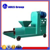 Buy cheap biomass Wood sawdust briquette charcoal making machine sawdust screw extruder briquette press from wholesalers