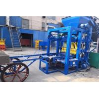 Wholesale QT4-25 Cement Hollow Block Making Machine , Hydraulic Paver Block Making Machine from china suppliers