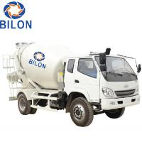 Buy cheap 3m3 Concrete Mixer Truck With 4 Wheel Driver , 2 Wheel Steering from wholesalers