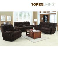 Buy cheap Reclining Chocolate Sofa Set,Fabric Sofa Set,Living Room Modern Furniture,Motion Sofa,Motion Loveseat with Cosole from wholesalers