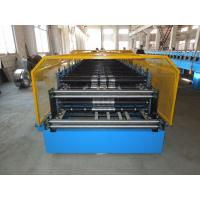 Buy cheap Customerized Double Layer Roll Forming Machine 0.4 - 0.8mm Thickness from wholesalers