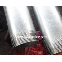 Buy cheap hot dip galvanized erw carbon steel pipes/tubes from wholesalers
