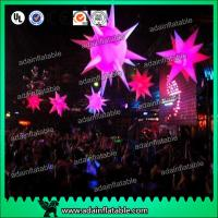 Buy cheap 1.5m Diameter Inflatable Led Lighting Decoration Inflatable Star Decoratiom from wholesalers