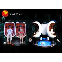 Electric System 9D VR Cinema Egg Cinema Equipment For Park / Busy Street