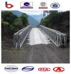Buy cheap 321-Type Bailey Bridge Single lane DSR, galvanized,temporary steel bridge ,truss bridge from wholesalers
