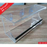 Buy cheap Wall Mounted Clear Acrylic Bird Feeder with Hooks and Drainage System from wholesalers