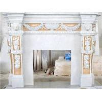 Wholesale Marble Fireplace,Outdoor Fireplace,Fireplace Mantel,Granite Fireplace from china suppliers