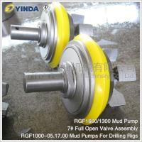 Wholesale RGF1600/1300 Mud Pump Valve 7# Full Open Valve Assembly RGF1000-05.17.00 from china suppliers