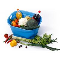 Buy cheap Foldable Silicone Kitchen Tools Silicone Basket For Seafood And Vegetables from wholesalers