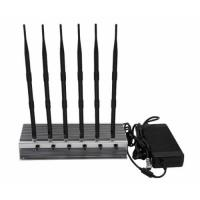 Wholesale 56W Cellular Signal Jammer Device To Block Mobile Phone Signal 5-50M Range from china suppliers