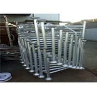 Buy cheap Safety Layher Scaffolding Parts Ring System Scaffold All Round Wedge Lock Type from wholesalers