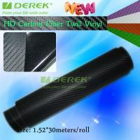 Buy cheap High-definition Carbon Fiber Vinyl Car Wrapping Film - Black from wholesalers