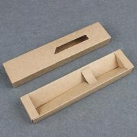 Buy cheap Pen Gift Kraft Paper Packaging with Drawer for Ballpoint Pens Custom Logo Available from wholesalers