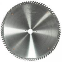 Buy cheap TCT saw blades (solid woods, timber product coated with plastics, paper and veneered timber product and laminated wood) from wholesalers