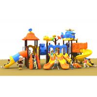 Buy cheap Long Life Time Galvanized Plastic Outdoor Play Equipment For 2-16 Age from wholesalers