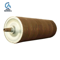 Wholesale Mills Spare Parts Rotary Dryer Cylinder Cast Iron Paper Machine Dryer Section Dryer Cylinder from china suppliers