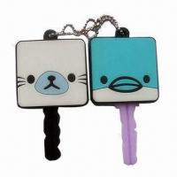 Wholesale Customized Cute Marine Cube Friends Eco-friendly PVC Keycovers, Promotion Premiums from china suppliers