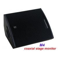Buy cheap PA Sound Equipment 480W 3 + 15 Plywood Coaxial Stage Monitor For Living Event And Show from wholesalers
