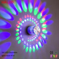3W interior RGB modern LED wall light/LED decoration light  for corridor and for showroom used Manufactures