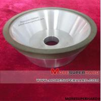 Buy cheap 11V9 Resin bond Diamond grinding wheels For Tungsten carbide from wholesalers