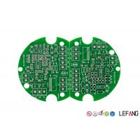 Wholesale Double Sided HASL FR4 PCB Board Lead Free Green Solder Mask For Consumer Electronics from china suppliers