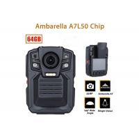 Buy cheap Remote Control Security Body Camera Ip67 Water Proof With 1296P IR LED Light from wholesalers