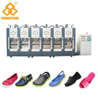 Buy cheap Automatic EVA Slipper Garden Shoes Making Machine with 6 Stations product