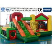Buy cheap Kids Birthday Party Gift Inflatable Bounce House Jumping Castle With Happy Hop from wholesalers