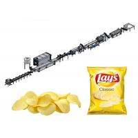 Buy cheap Full Automatic Potato Chips Making Machine Potato Chip Manufacturing Equipment from wholesalers