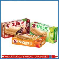 Buy cheap Food Grade Customized Color Print Fruit Pie Apple Paper Packaging Box from wholesalers