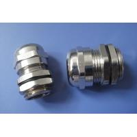 Buy cheap Antirust Nickel Plated Brass Cable Gland , IP68 Connector PG7 Cable Gland from wholesalers