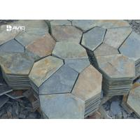 Wholesale 10/20mm Thickness Irregular Slate Paving Stones For Flooring Tiles Slip Resistant from china suppliers