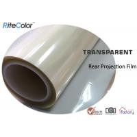 Buy cheap Rear Projection Holographic Screen Film/Transparent Rear Projector Film/Indoor Hologram Advertising Film from wholesalers
