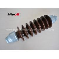 46 KV Station Post Insulators , Suspension Type Insulator Self Cleaning