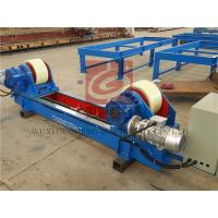 Lead Screw Adjustable Type Pipe Turning Rolls With France Schneider Inverter 20T Manufactures