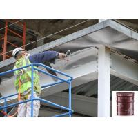 Buy cheap Two Hours Thick Film Water Based Exterior Metal Paint Liquid Grey Intumescet Resistant from wholesalers
