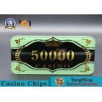 Wholesale Custom Ceramic Clay And Plastic Casino Poker Chips With Custom Logo from china suppliers