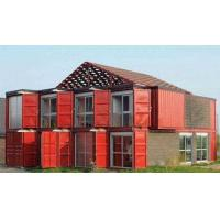 Buy cheap Custom Container House Prefab Rockwool Or Glass Fiber Sandwich Wall Panel product