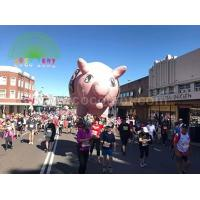Buy cheap PVC Inflatable giant pig helium sky balloon for parade from wholesalers