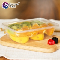 Buy cheap Factory direct sale rectangular disposable microwave plastic PP takeaway food containers from wholesalers