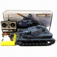 Buy cheap 1:16 RC Panzer IV-F2 Tank Toy with Smoke and Sound Functions, Infrared Battle Version from wholesalers