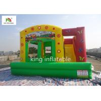 Buy cheap Colorful Amusement Inflatable Jumping Castle With Slide For Toddler Oxford CE Blower from wholesalers