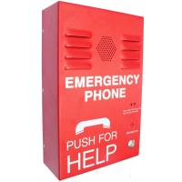 Buy cheap Red Auto Dial Emergency Push Button Telephones , Caller ID SOS Phone from wholesalers